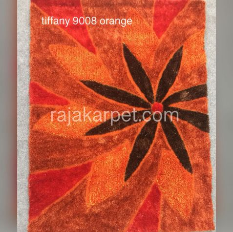 Karpet Bulu Tiffany 1 tiff_9008_orange
